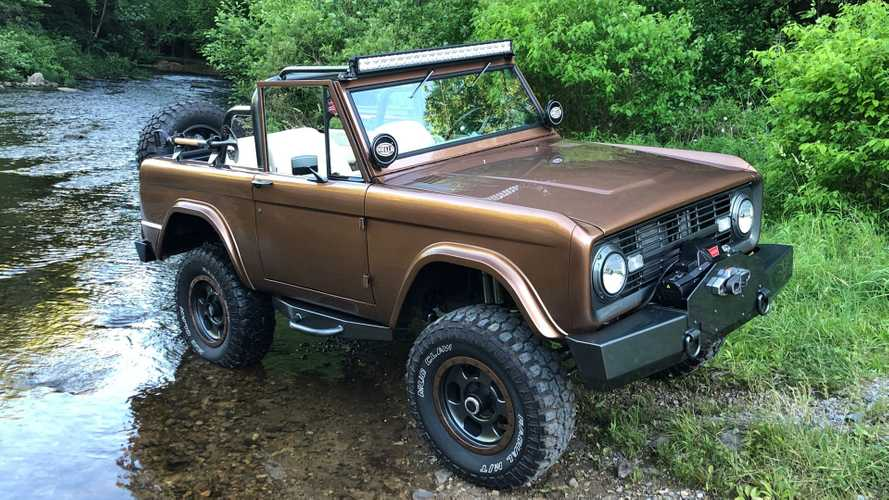 Take On Nature With A 1969 Ford Bronco Recreation