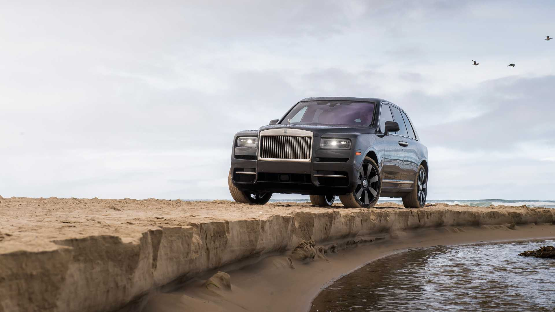 "[""Rolls-Royce Cullinan Proves Victorious In All-Female Off-Road Rebelle Rally""]"