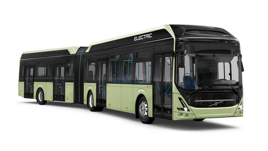 Volvo Scored Europe's Largest Order For Electric Buses
