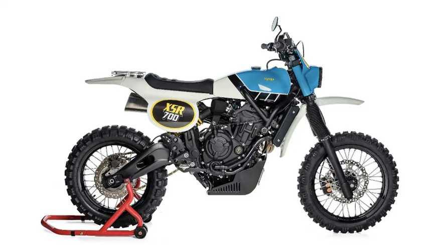 Yamaha XSR700 TT