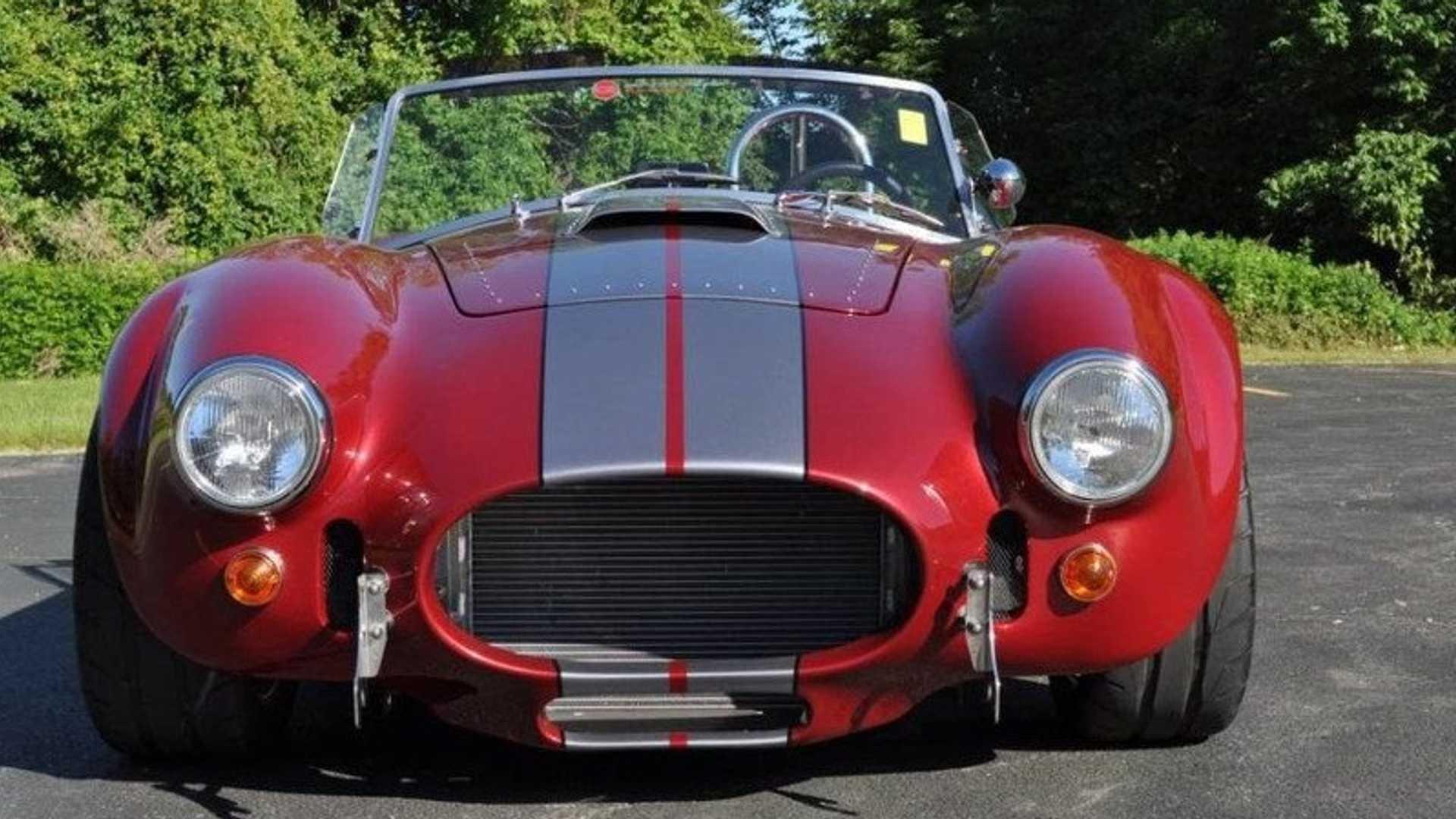 "[""Backdraft Racing 1965 Cobra Up For Grabs""]"