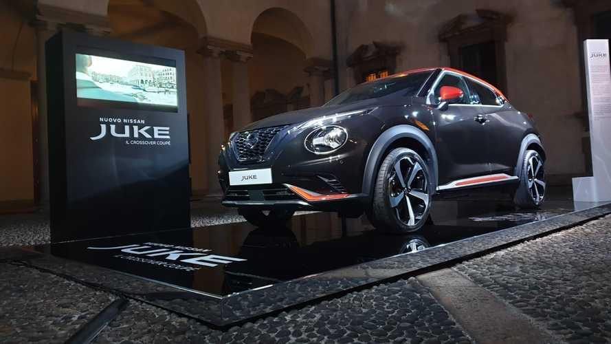 La nuova Nissan Juke è alla Fashion Week a Milano