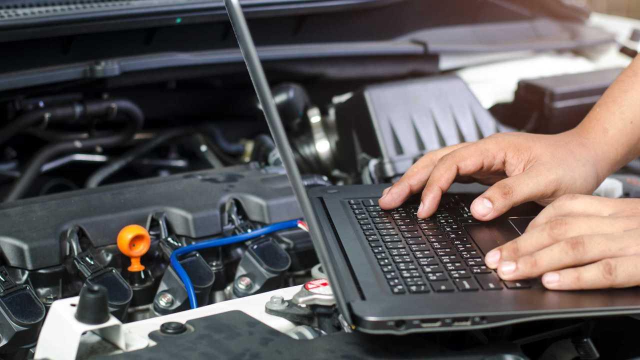 computer diagnostic on car