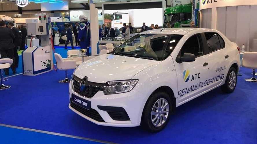 Renault Logan перевели на газ