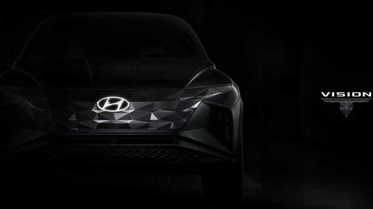 Hyundai plug-in SUV concept teaser
