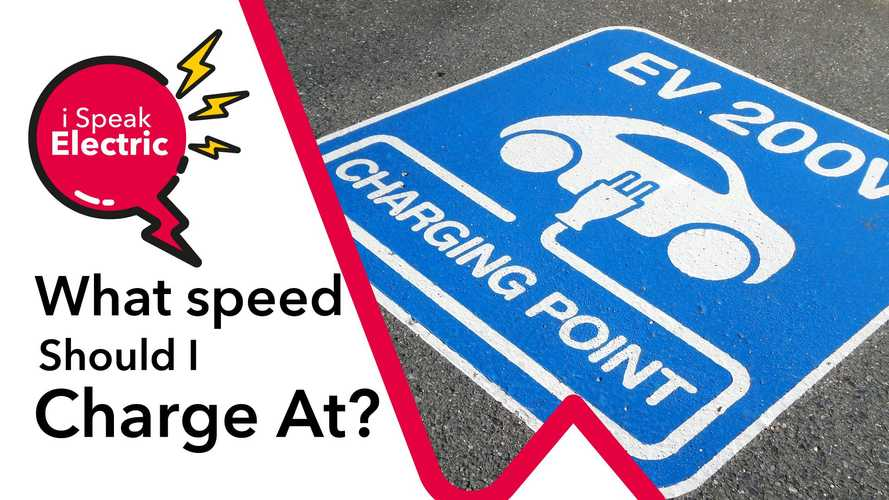 What speed should you charge your electric car at?