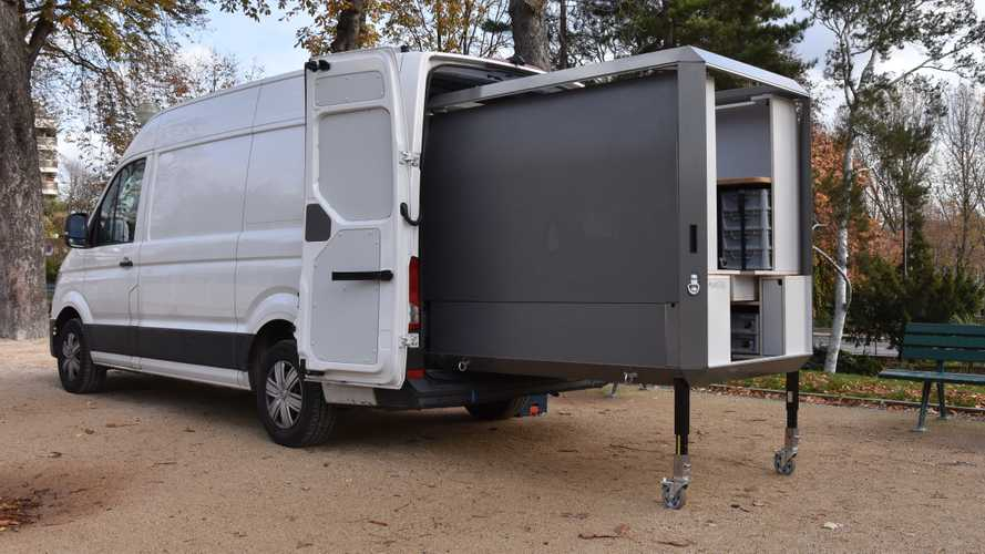 Transforma tu furgoneta en un taller con el módulo de PlugVan