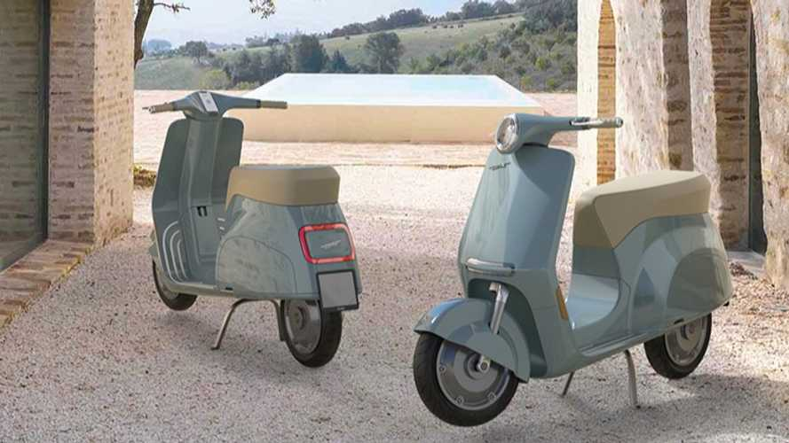 Vespa Elettra Concept: Classic Styling In The Modern Age