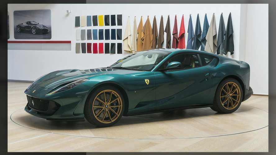 Ferrari Reveals Bespoke 812 Superfast Pampered By Tailor Made Division