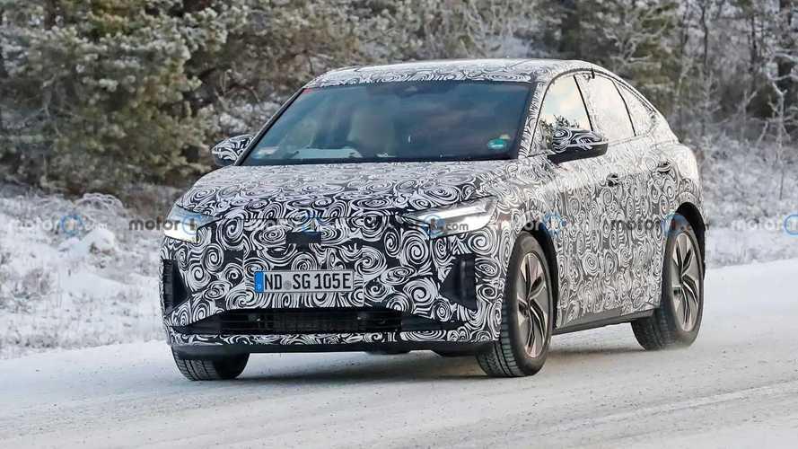 Audi Q4 E-Tron Sportback New Spy Shots