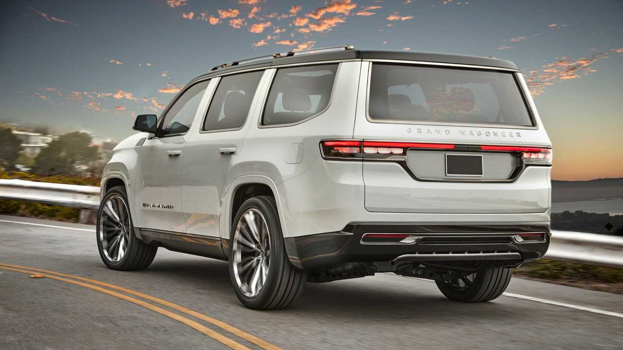 Jeep Grand Wagoneer Concept (2020), вид сзади