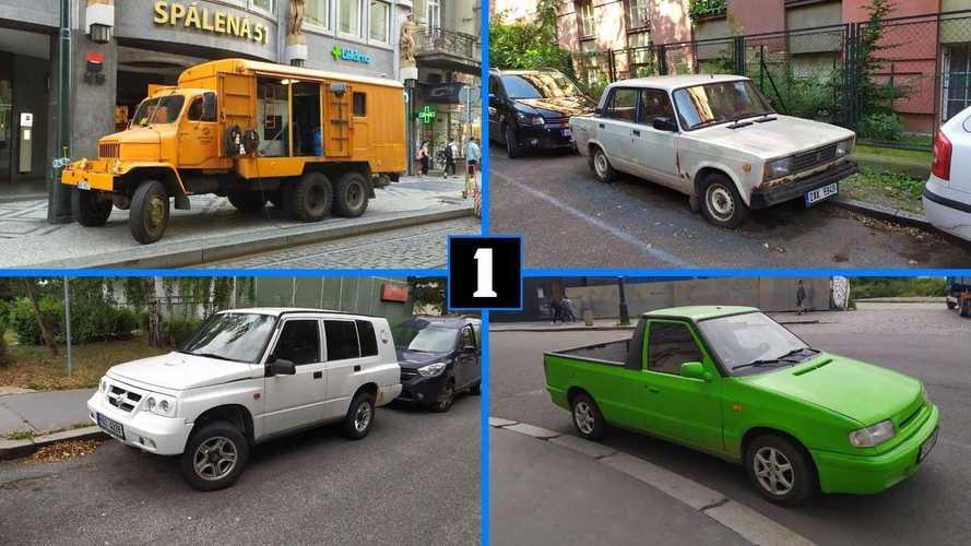 На чем ездят в Праге: 12 интересных автомобилей и одни «Жигули»