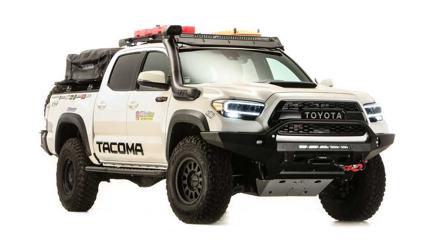 Toyota Tacoma Gets An Awesome Overland-Ready SEMA Makeover