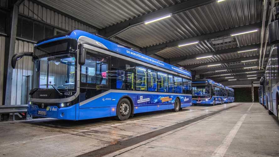 München elektrifiziert gleich zwei Stadtbus-Linien