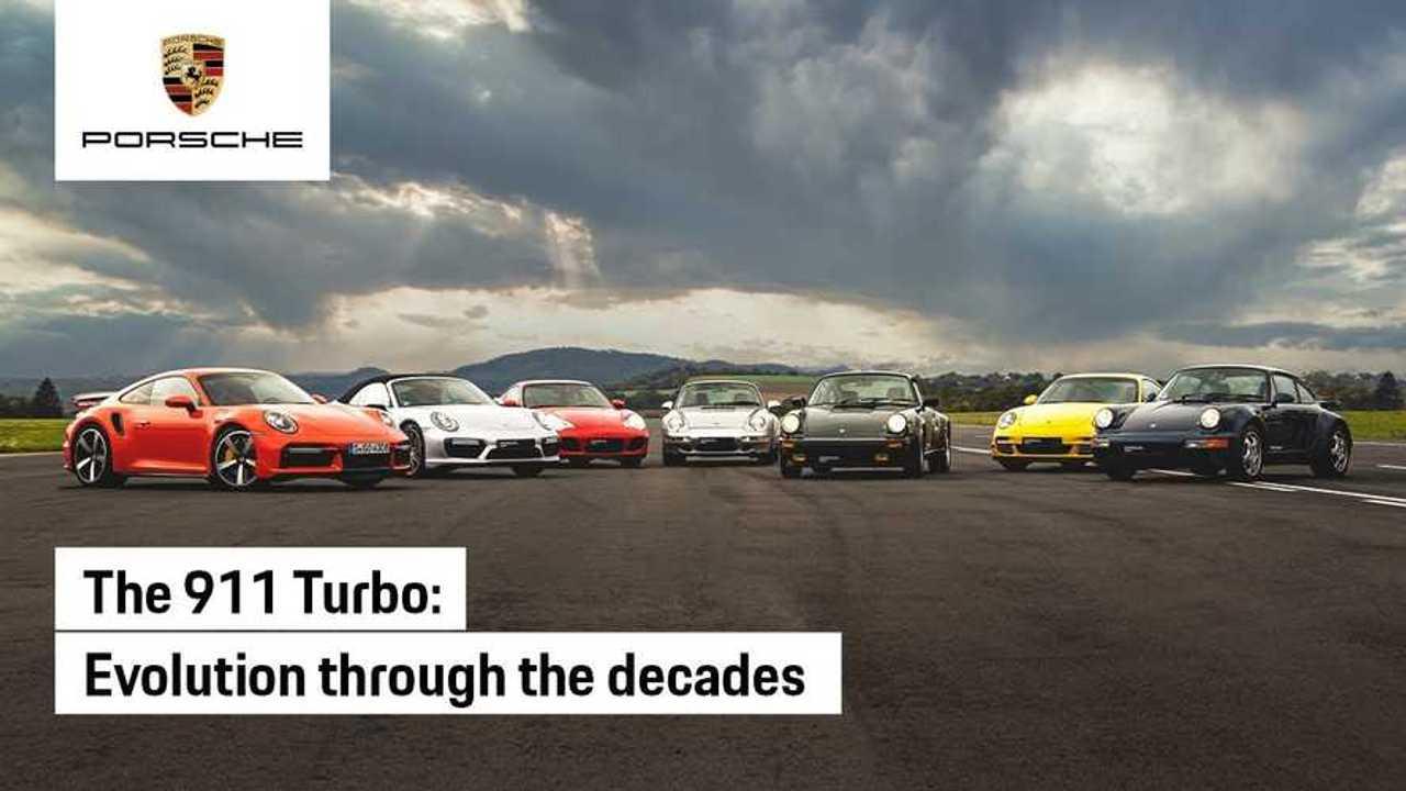 Porsche 911 Turbo Generations Drag Race