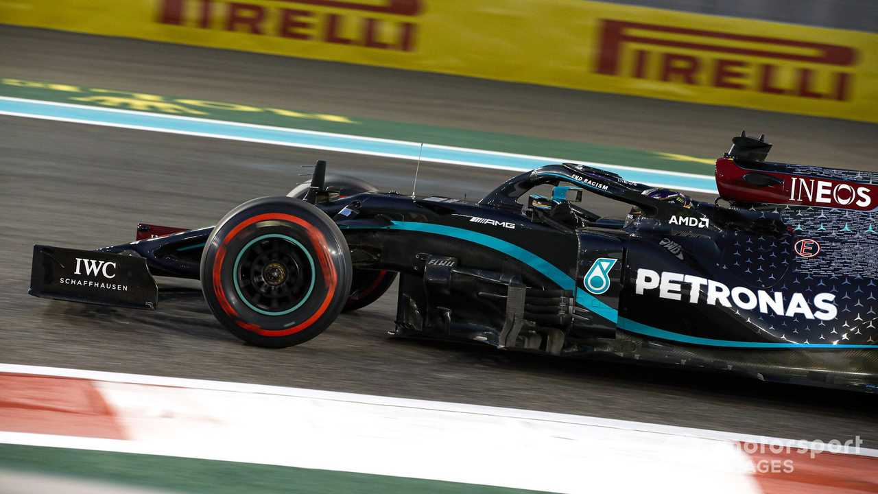 Lewis Hamilton at Abu Dhabi GP 2020