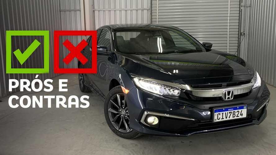 Honda Civic EXL 2.0 2021: Prós e Contras