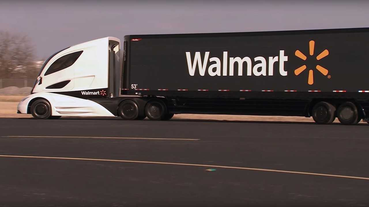 Walmart - conceito avançado de caminhão elétrico