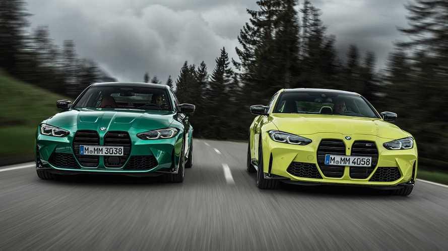 BMW представила новые полноприводные спорткары M3 и M4