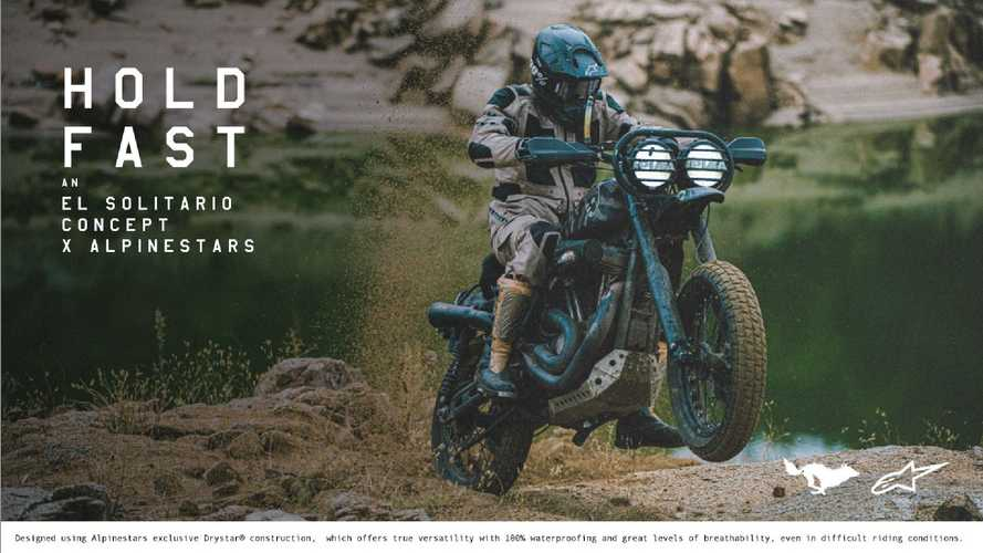 Alpinestars e El Solitario, capsule collection Mowart