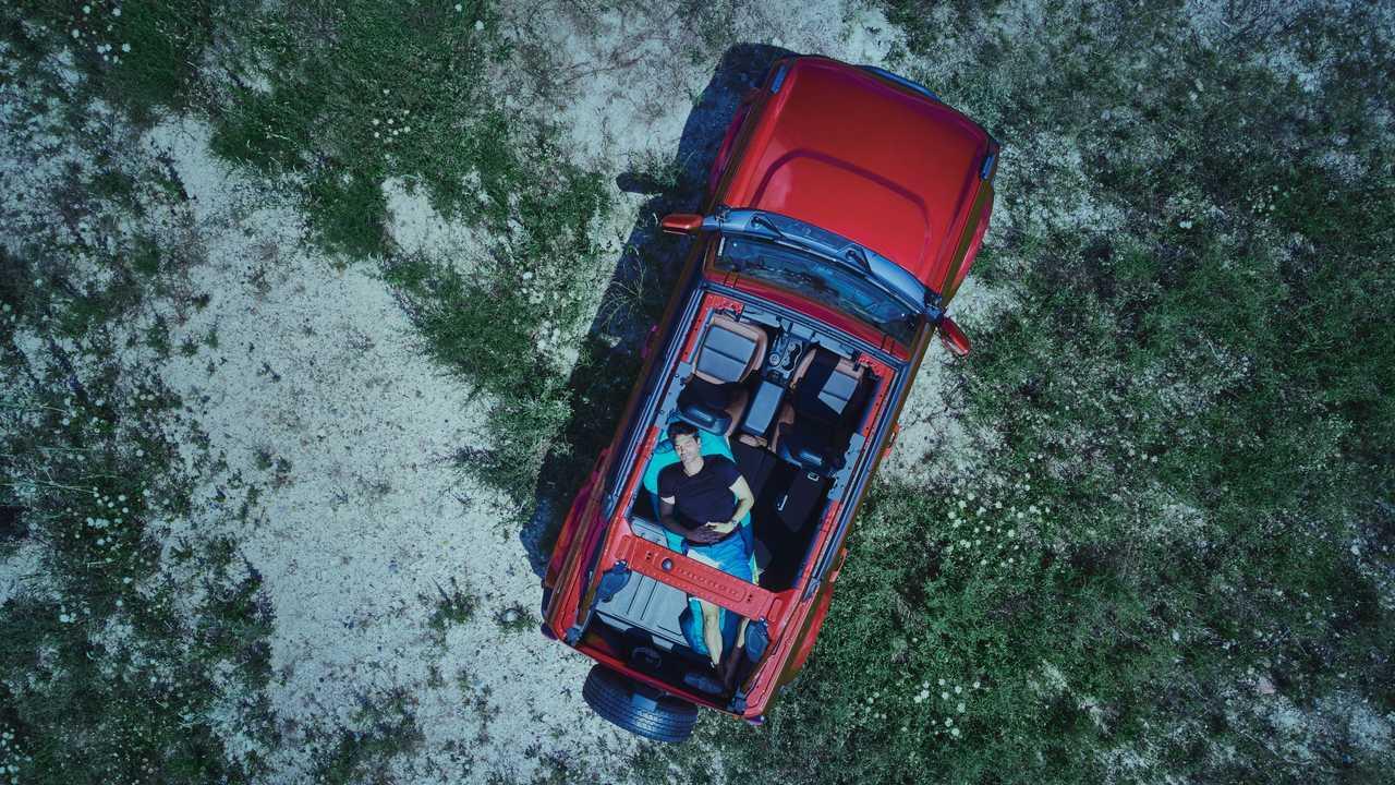 2021 Ford Bronco Four-Door Roof