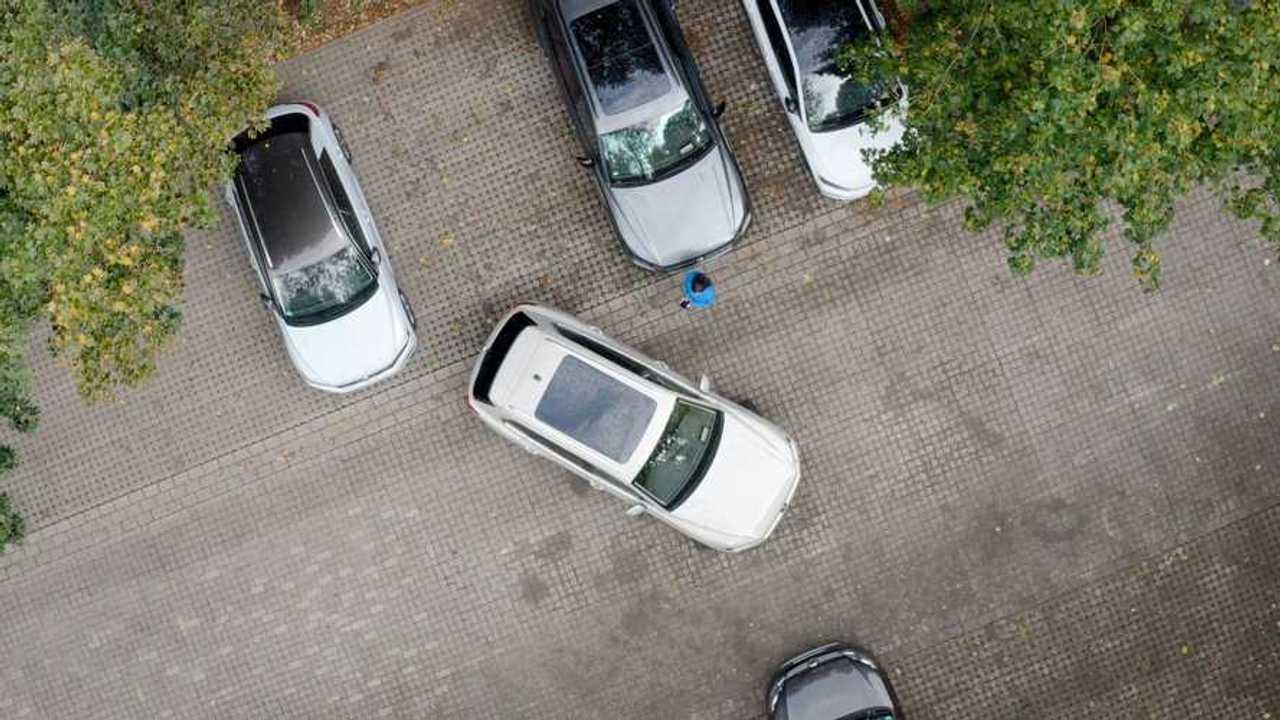 Volkswagen Touareg Remote Park Assist Plus