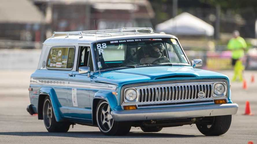 This 880-HP Hemi-Swapped Jeep Is A Track Capable Sleeper