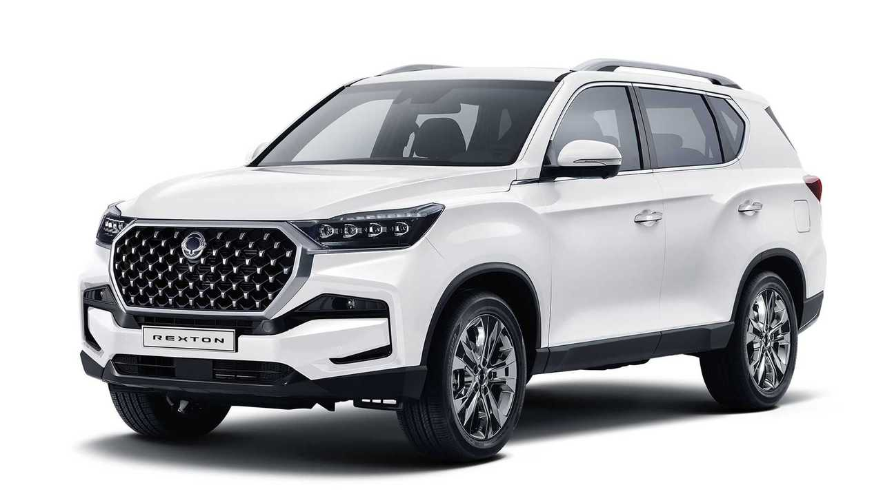 ssangyong rexton restyling (2020)