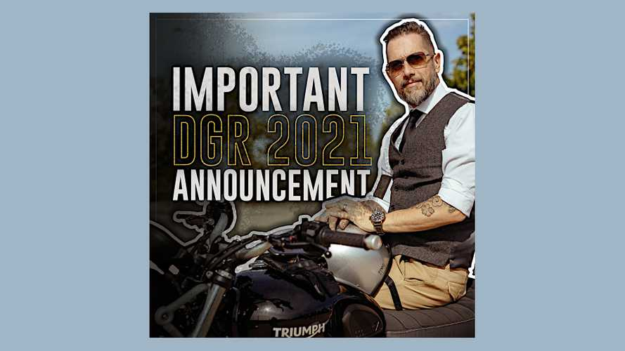 Distinguished Gentleman's Ride Moves To May 2021