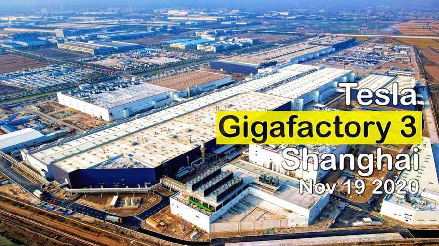 Tesla Giga Shanghai: New Test Track For Model Y Emerges
