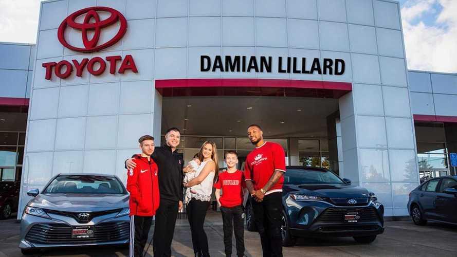 Damian Lillard Just Opened A Baller Toyota Dealership