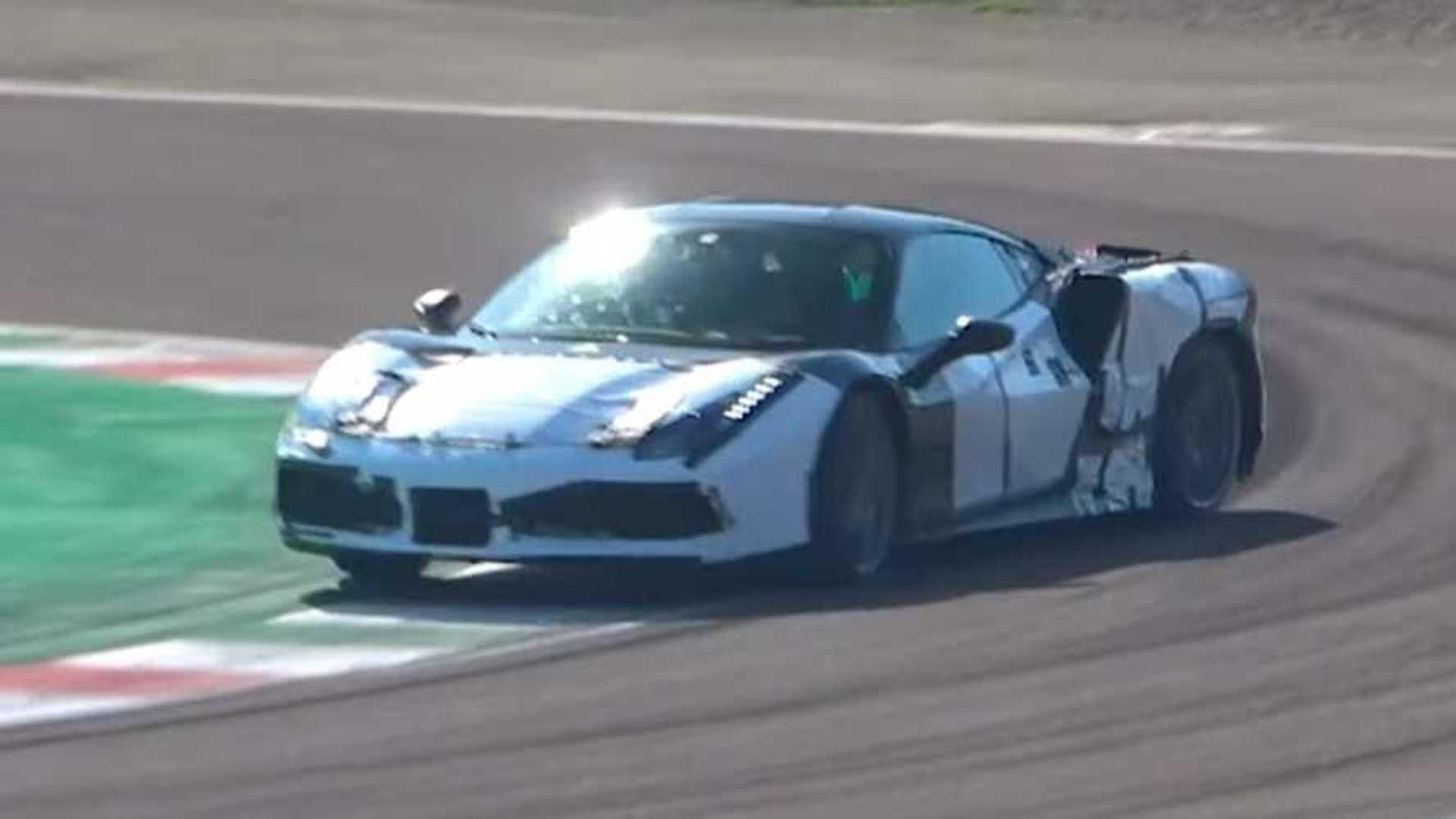 Ferrari V6 Hybrid Testing At Fiorano Making The Sound Of The Future