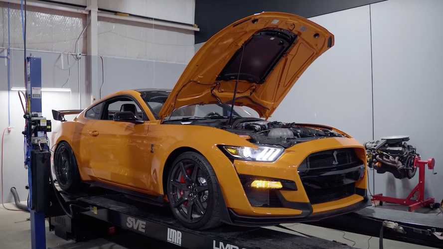 Shelby GT500 Carbon Fiber Track Pack Dyno Run Shows Polarizing Result
