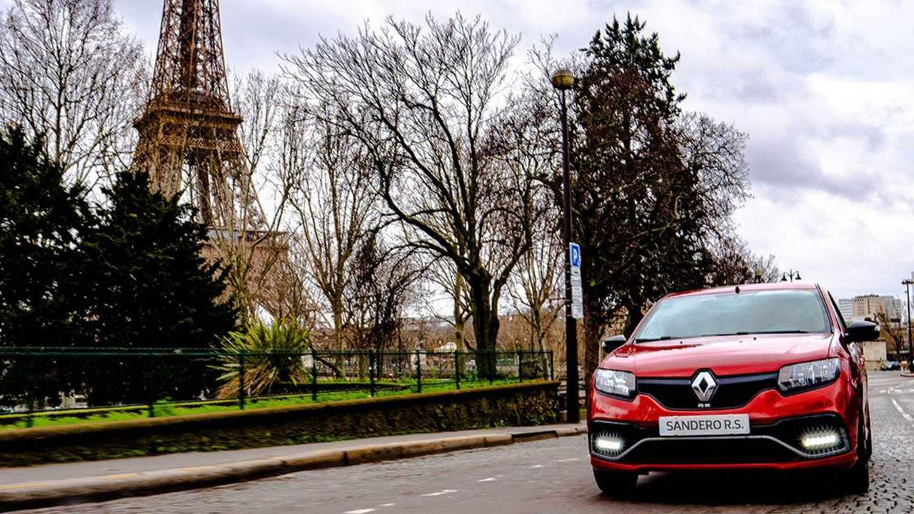 Renault Sandero R.S. - Paris