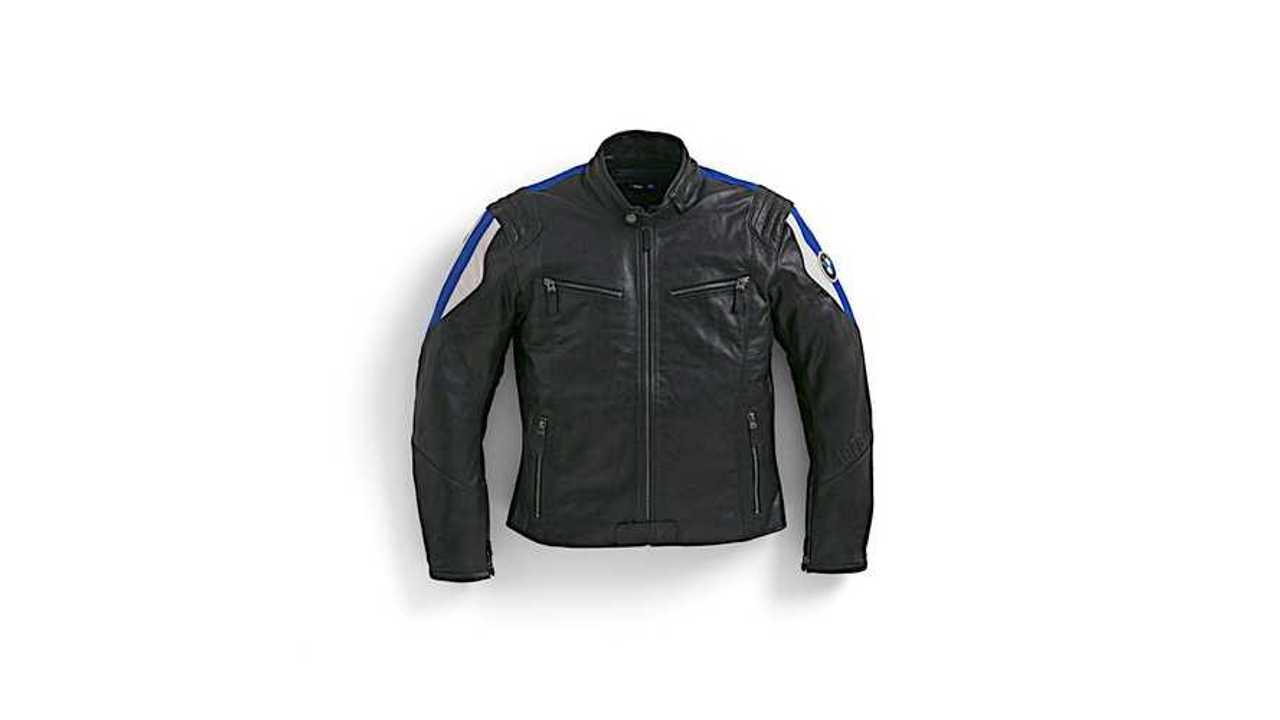 BMW Motorrad Club Leather Men's Jacket - Blue