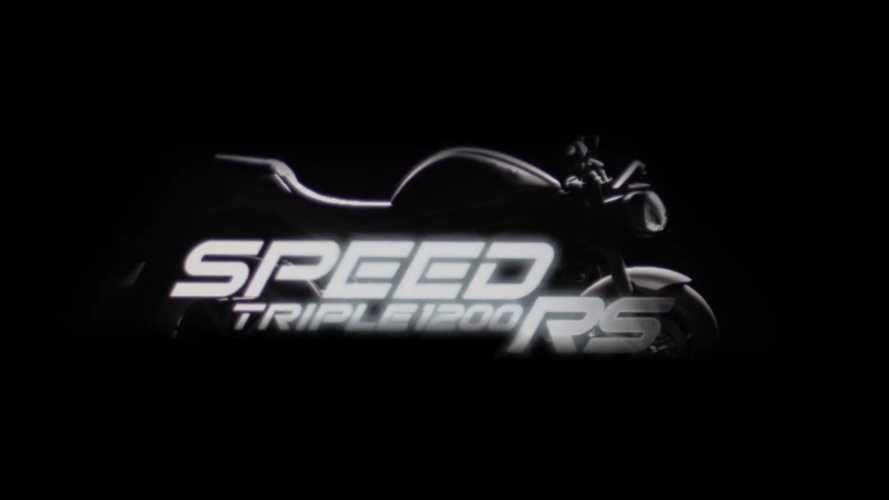 Triumph Teases Incoming New Speed Triple 1200 RS