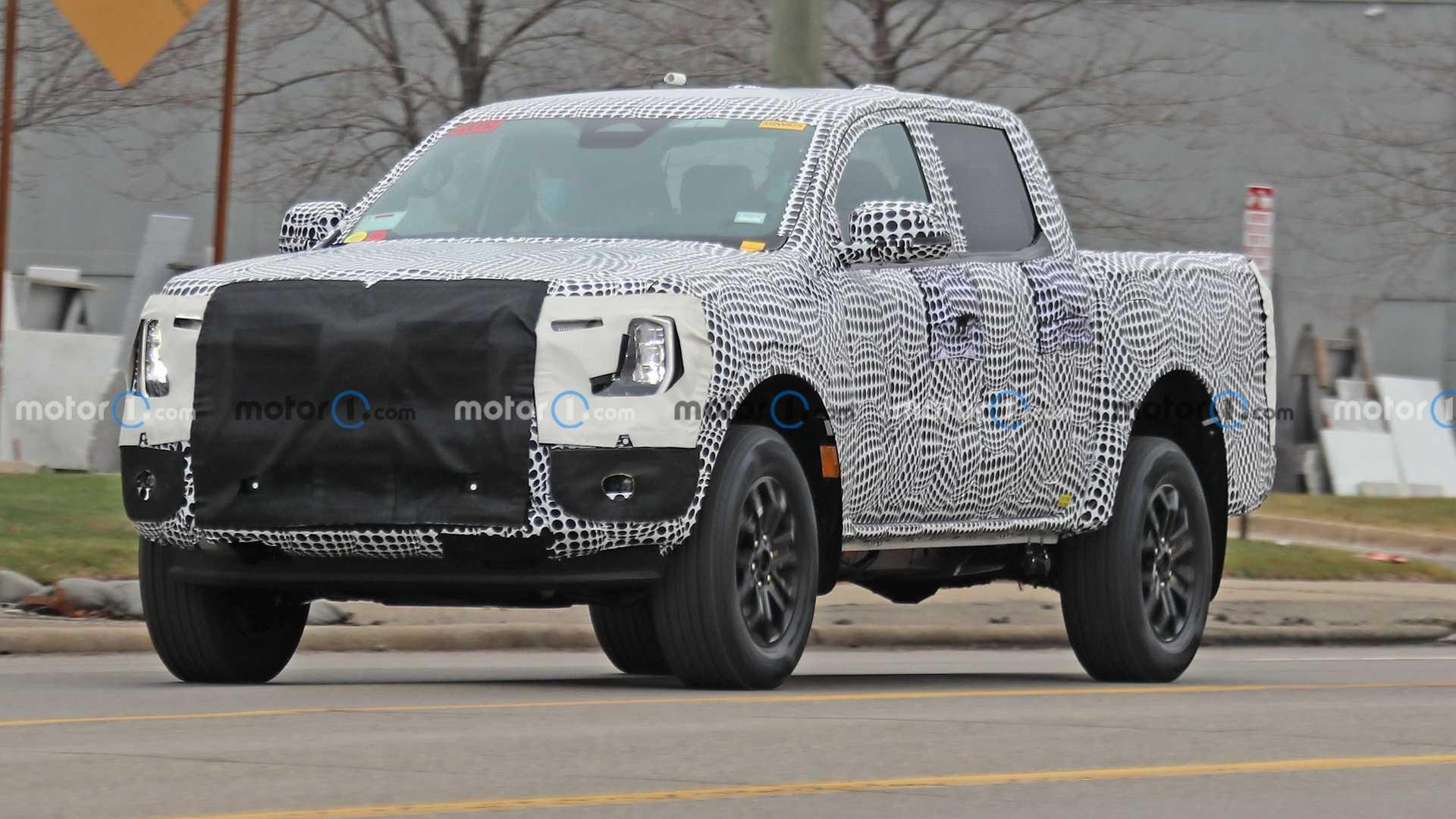 Подтвержден Ford Ranger PHEV 2023 года, по слухам, он имеет 362 л.с. и 502 фунта-фут