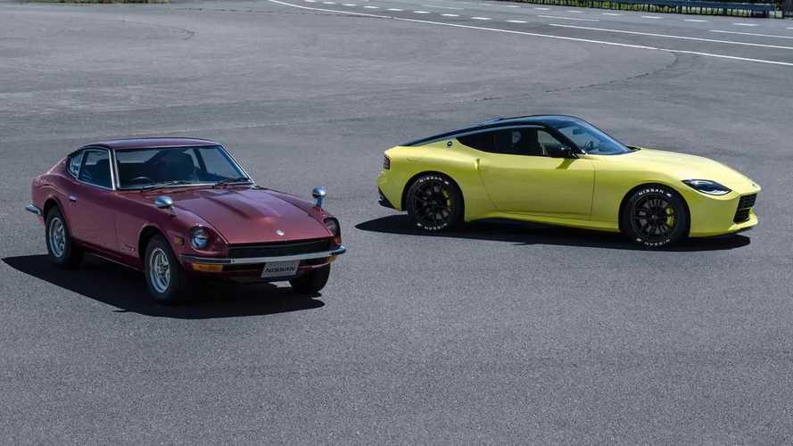 Nissan скрестил классику и современность в спорткаре Z Proto