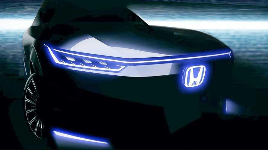 Honda divulga imagem de prévia de carro elétrico com produção em massa