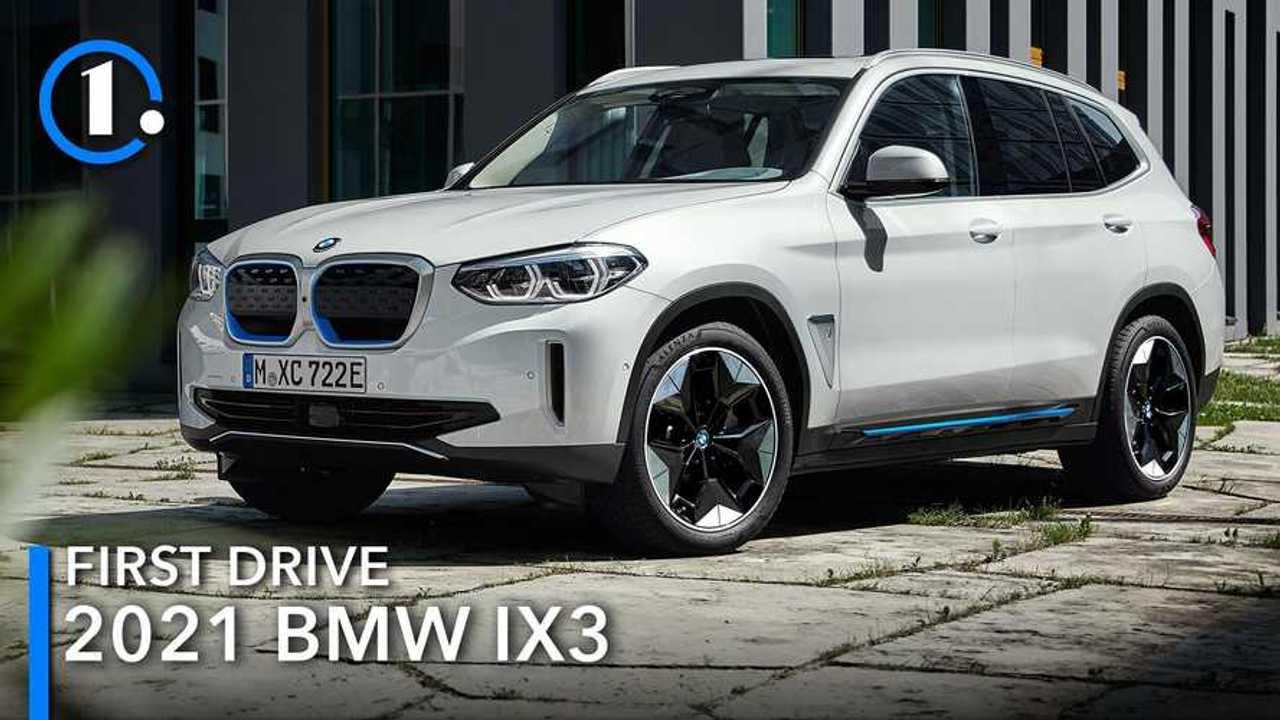 2021 BMW iX3 First Drive