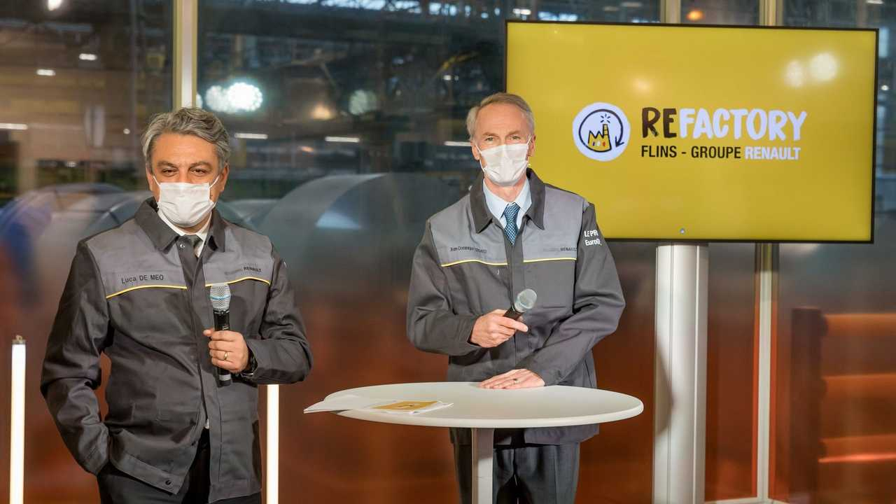 Renault Will Recycle Its Flins Plant As Its First Refactory