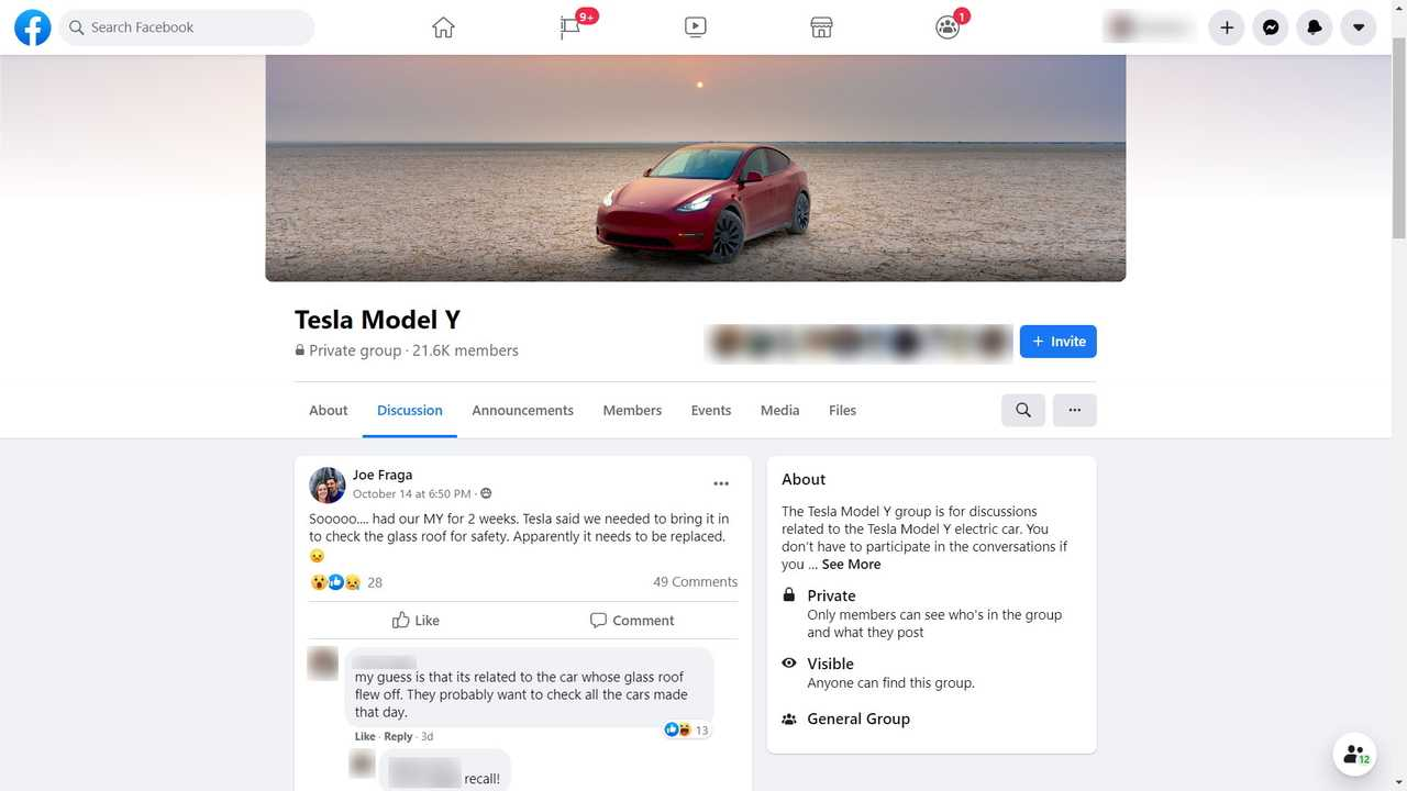 Tesla Is Inspecting Model Y's Roofs After One Flew Off