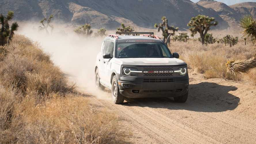 Ford Bronco Sport Wins Rebelle Rally