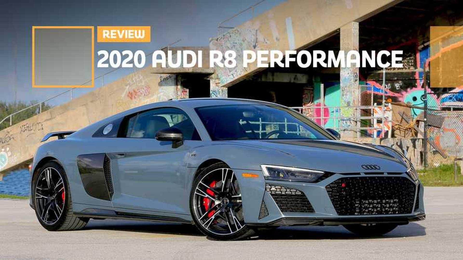 2020 Audi R8 Performance Review: Better Car, Best Engine