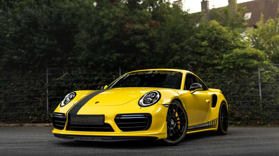 Porsche 911 Turbo S by Manhart is an 850-bhp catapult