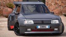 Peugeot 205 T16 de Dimma