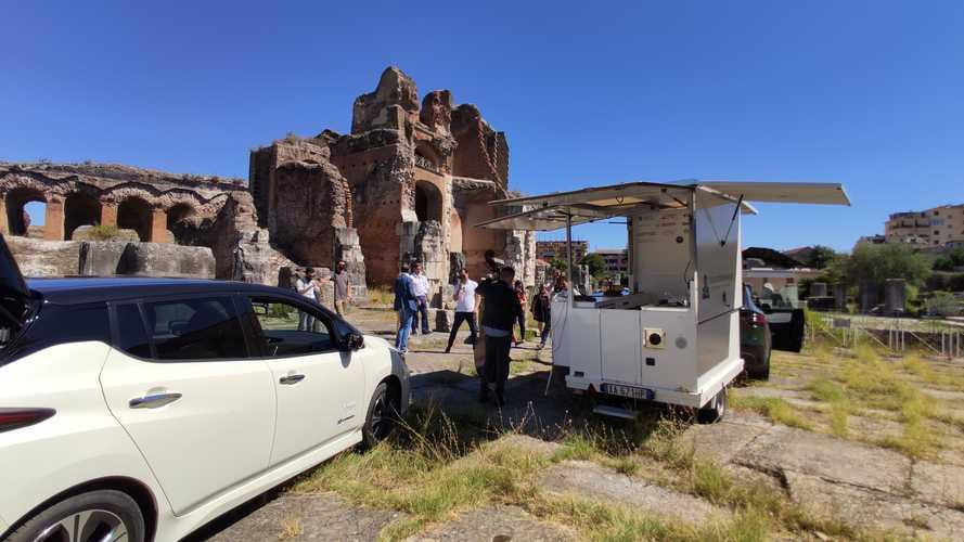 Viaggiare in Italia in auto elettrica piace anche al Governo