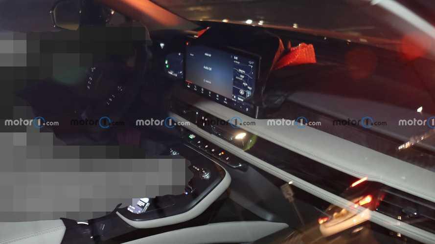 2021 Lincoln Nautilus Interior Spy Photos