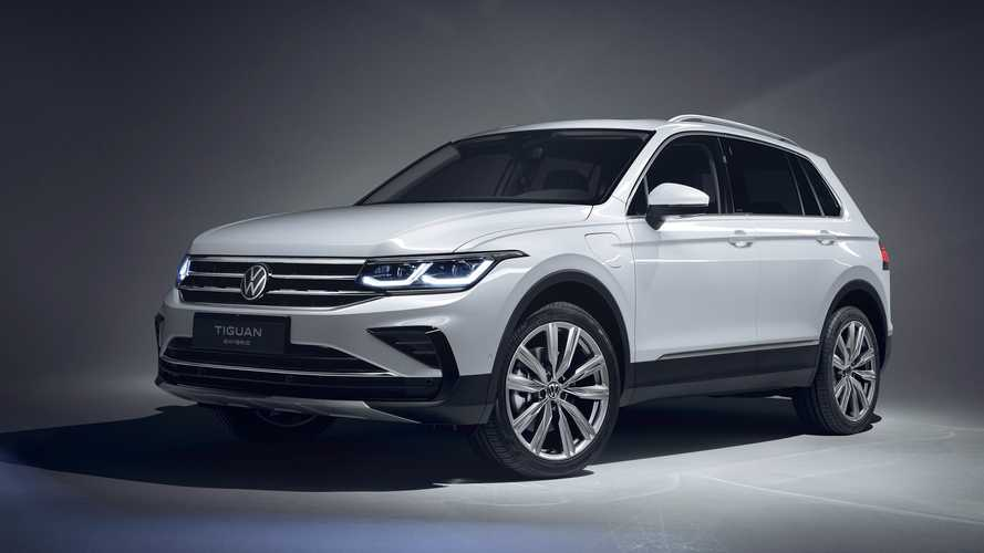 VW Tiguan eHybrid (2021): Mit Plug-in-Hybridantrieb ab 42.413 Euro