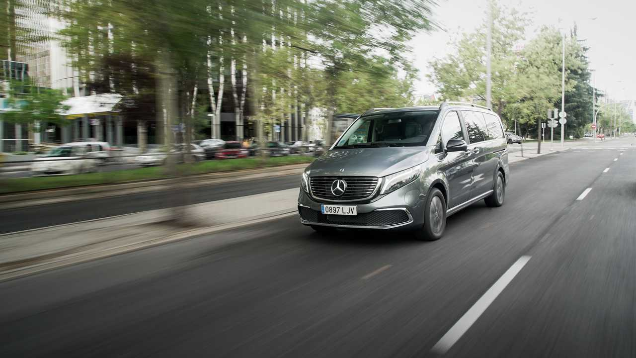 Mercedes-Benz EQV, prueba